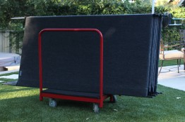 Rolling Cart with 9 Panels